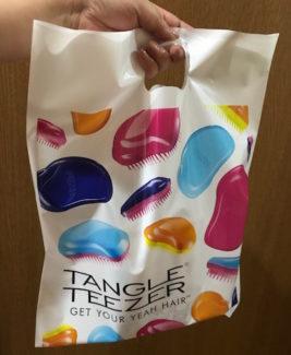 タングルティーザー ショッピングバッグ