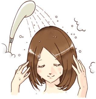 シャンプー 予洗い
